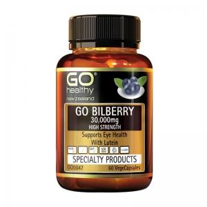 【直邮价】Go Healthy高之源 蓝莓越桔护眼(30000mg)胶囊60粒 保质期:2023.9月