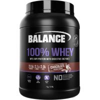 【直邮价】Balance纯乳清蛋白质粉-巧克力味1kg 保质期:2023.2月