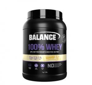 【直邮价】Balance 乳清蛋白粉 - 香蕉味 1kg 保质期:2023.1月